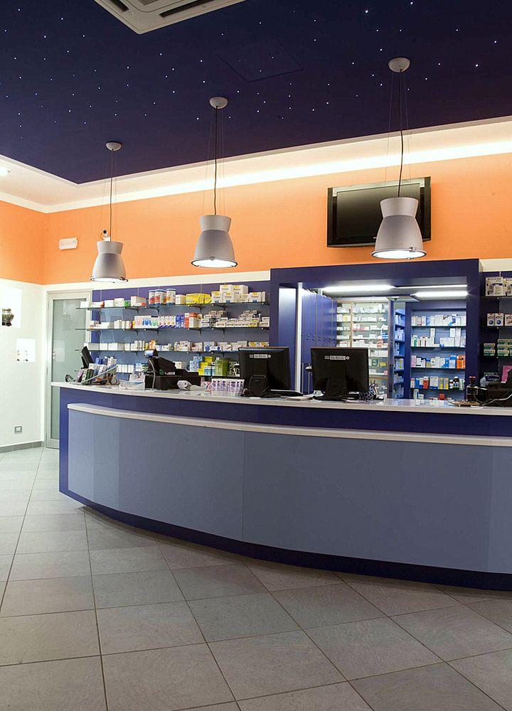 Pharmacy interior design solutions by ARCHSTUDIO99  - Siracusa (Sicily) Tel +39.0931 757801 info@archstudio99.it www.archstudio99.it