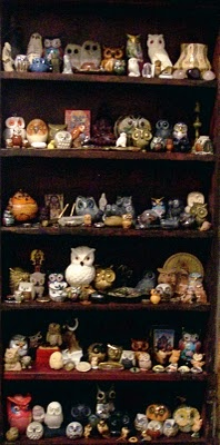 one day my owl collection will be this big