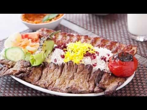 Apadana Persian Restaurant - London - great Iranian cuisine - YouTube