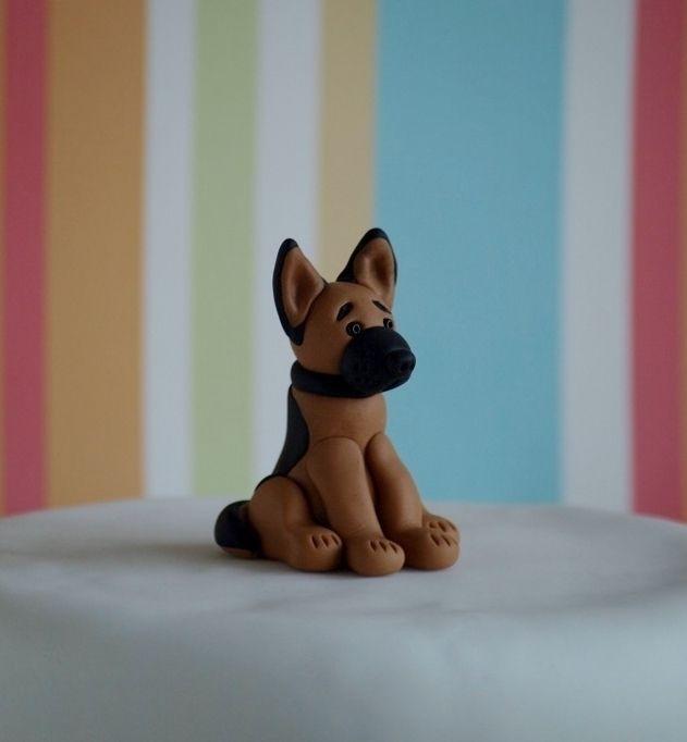 German Shepherd Cake Topper £11.00