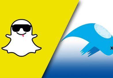 El fantasma de Snapchat supera a Twitter
