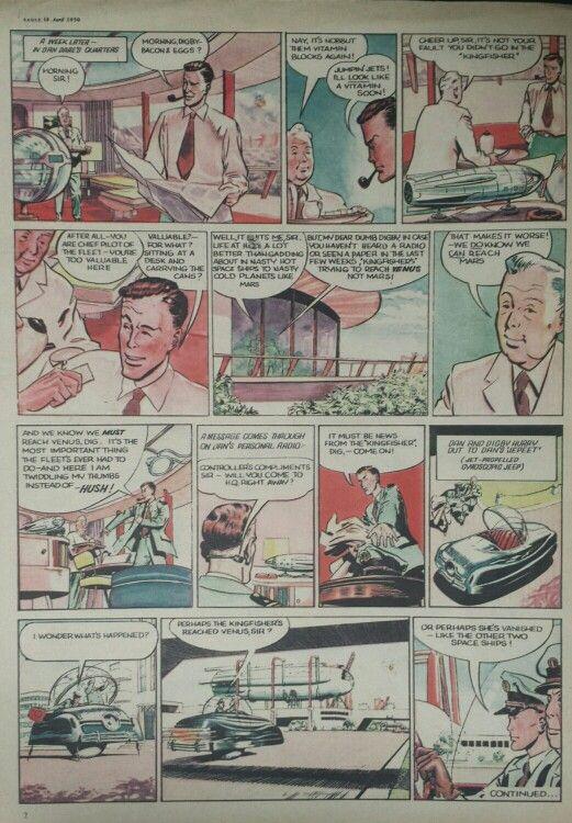 Dan Dare from Eagle Comic #1