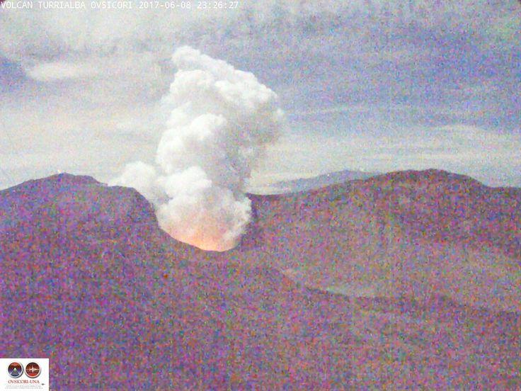 Webcam Volcan Turrialba - Cartago :::: 09-06-2017