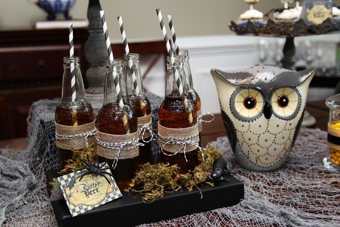 Harry Potter Party - love the bottles