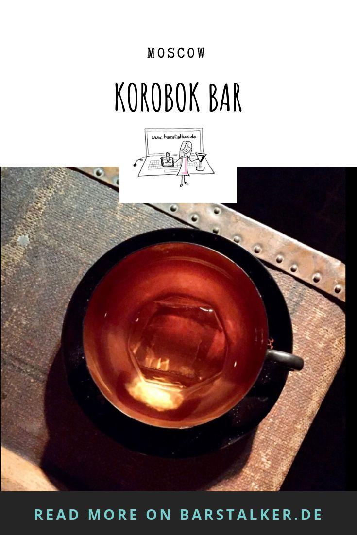 Korobok A Bar In A Matchbox An Explosive Mix Moskau Bar