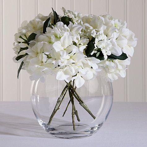 Buy LSA Flower Bouquet Globe Vase, H22cm Online at johnlewis.com
