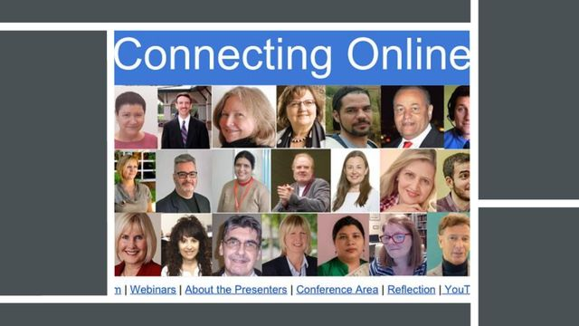 Connecting Online (CO) is a free 3-day online conference that has been taking place on the first full weekend of February since 2009.  CO17 is the 8th annual CO event. The theme of CO17 is connecting online for information. Three certificates will be awarded to those who attend, reflect, and present.   Jumpin Boogie Woogie by Audionautix is licensed under a Creative Commons Attribution license (https://creativecommons.org/licenses/by/4.0/) Artist: http://audionautix.com/