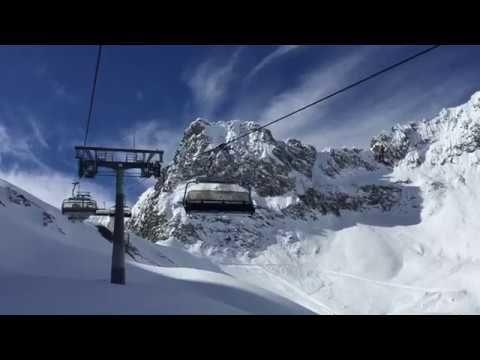 Frühlingsskilauf 2017 im Skigebiet Zürs am Arlberg