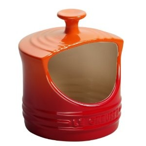 Le Creuset Stoneware 0.3 Litre Salt Pig, Volcanic: Amazon.co.uk: Kitchen & Home