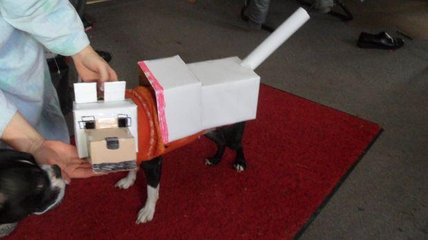 Minecraft Dog Costume