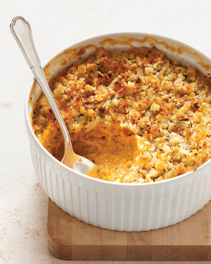 Sweet potato-sage casserole, sounds worth a try