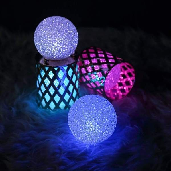 Balsacircle 3 In Wide Assorted Led Balls Battery Operated Orbs Lights In 2020 Ball Lights Led Ball Lights Orb Light