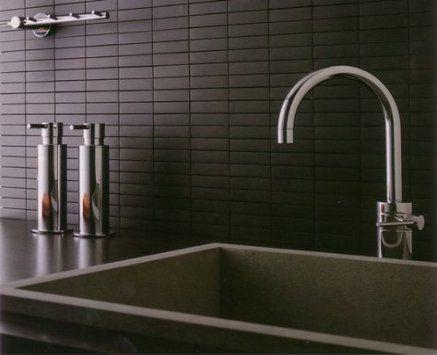 66 Ideas For Kitchen Black Matte Subway Tiles