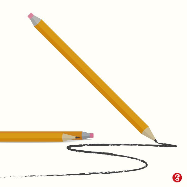Matita con Gomma – Grafica  30 marzo 1858 – Hymen Lipman brevetta la matita con la gomma per cancellare incorporata. Every Day – GELATINA DESIGN