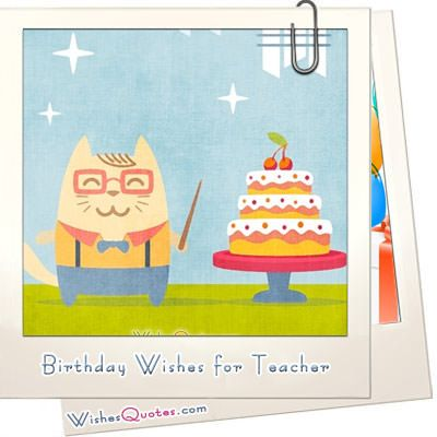 The 25 best Birthday wishes for teacher ideas on Pinterest