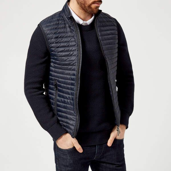 5c36c60dc1f Emporio Armani Men's Gilet Blu | The Handsome Style | Pinterest