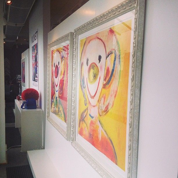 @gallerifinearts photo: #nye bilder i utstillingen#marianne#aulie#gallerifineart#tjuvholmen#kunst#oslo#fineart