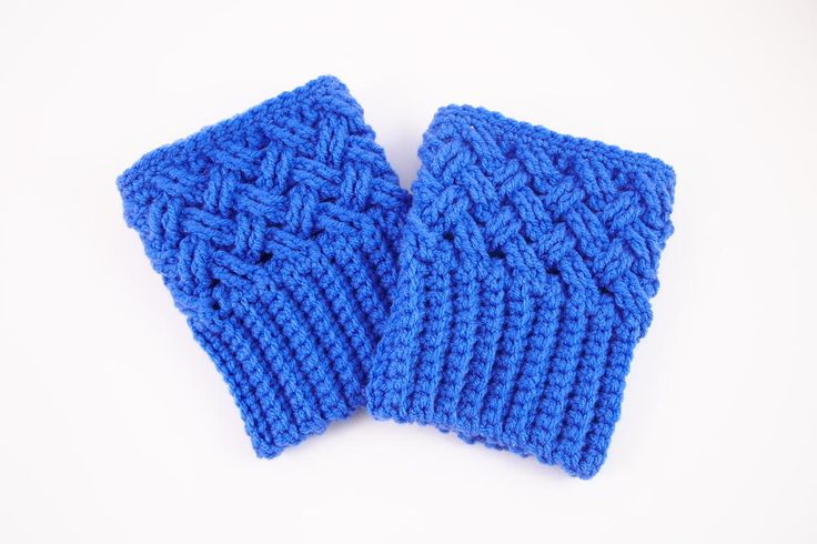 Dress up your fall look with these Celtic Dream Crochet Boot Cuffs. Slip these on under any pair of tall boots for a quick and easy way to spice up your look. These crochet boot cuffs give the layered look without any extra bulk.
