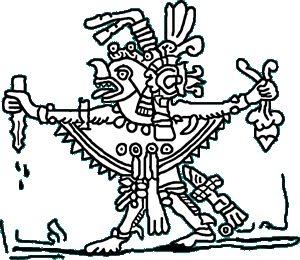 Zotz Dieu maya