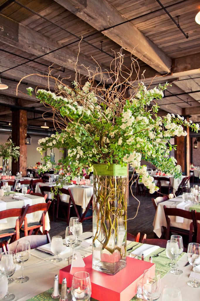 53 best hobbs building kansas city images on pinterest kansas a tall branching arrangement at the hobbs building branch centerpieceswedding junglespirit Choice Image