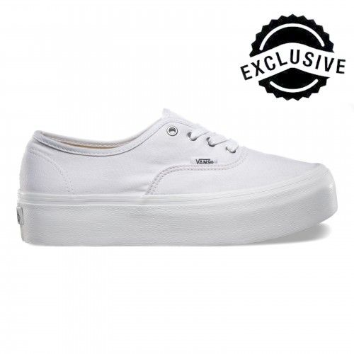 Vans Authentic Platform Schuhe True White