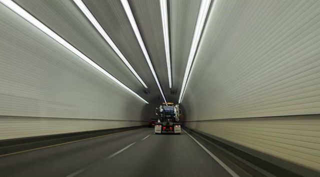 """Tunnel vision"" #photography #usa #alabama #car #expressionism #movement #tunnelvision #tunnel #transport #expressionismphotography #mobile #alabama"
