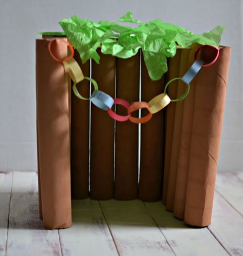 Make a Model Sukkah - Crafts & Coloring Pages - Jewish Kids