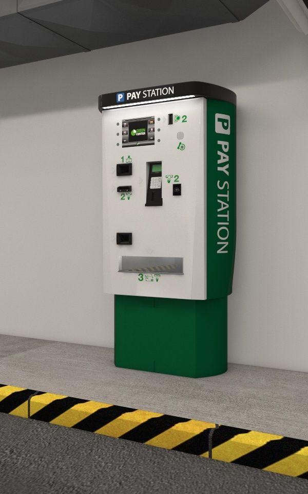 Pay station  Platební stanice