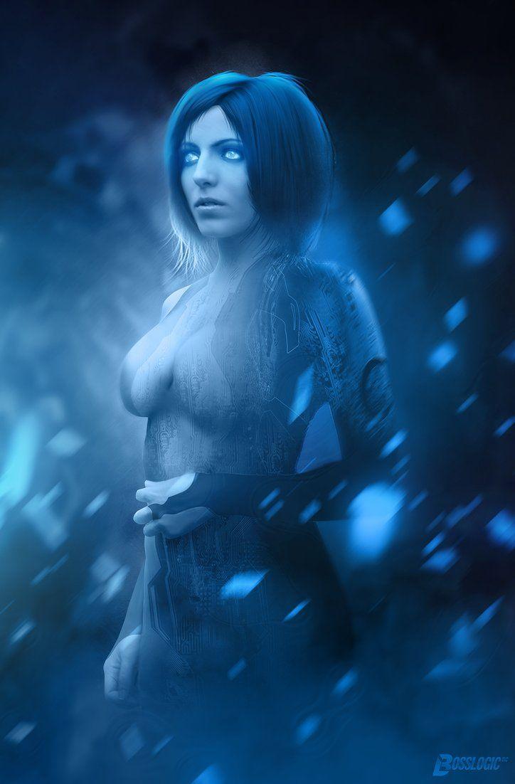 Cortana - HALO - BossLogic.deviantart.com