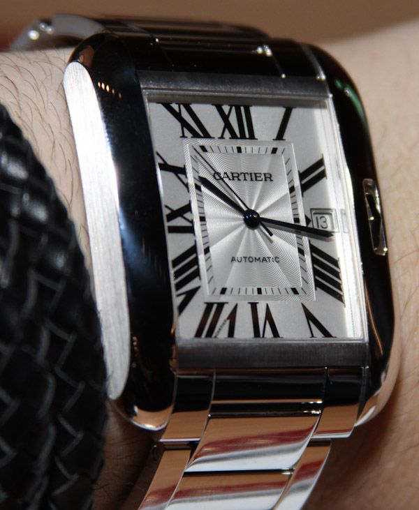 Cartier Tank Anglaise White Gold Watch