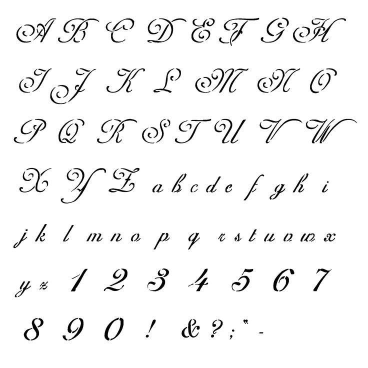 Cool Cursive Letters Alphabet Letter Of Recommendation