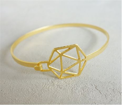 ShlomitOfir - Closed Geodesic Bracelet