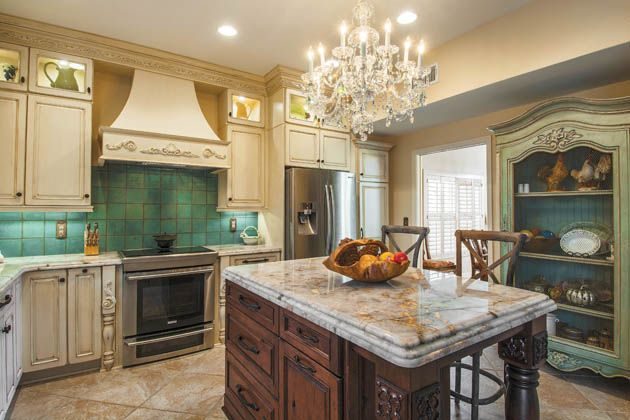 There are many different countertop options available in for Caribbean kitchen design ideas