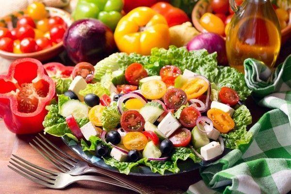 Bon Appetit Nourriture Salades Poivrons Tomates Crudites Wallpaper Free Le Monde Des Gifs Gesunde Abendessen Rezepte Einfach Mediterrane Ernahrung Gesunde Rezepte Abendessen