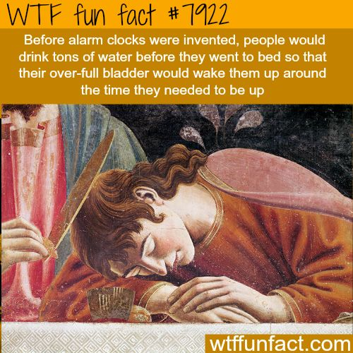 How to wake yourself up without alarm clock - WTF fun facts