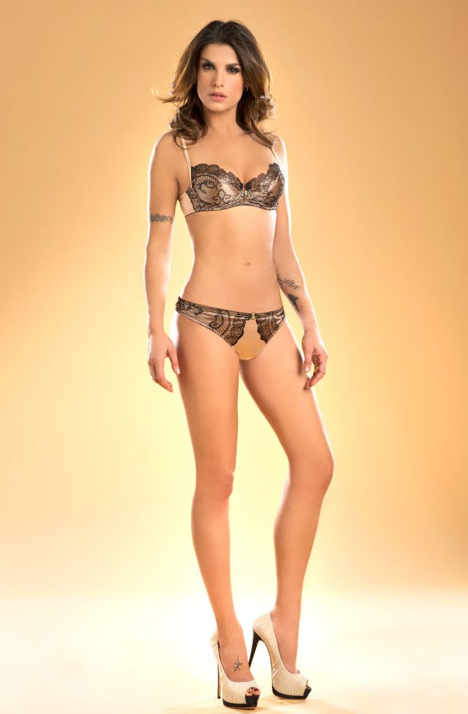 Elisabetta Canalis Lormar lingerie 26