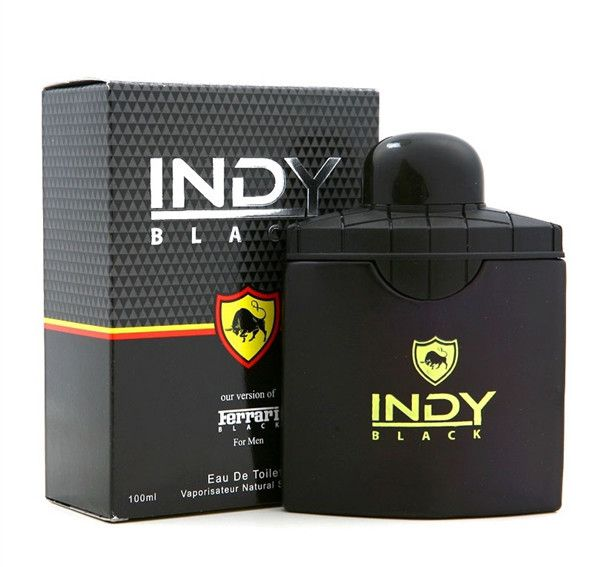Free Shipping~! Indy Black Perfume for Men - Our version of Ferrari Black 100ml (Impression Perfume/Imitation Perfume)
