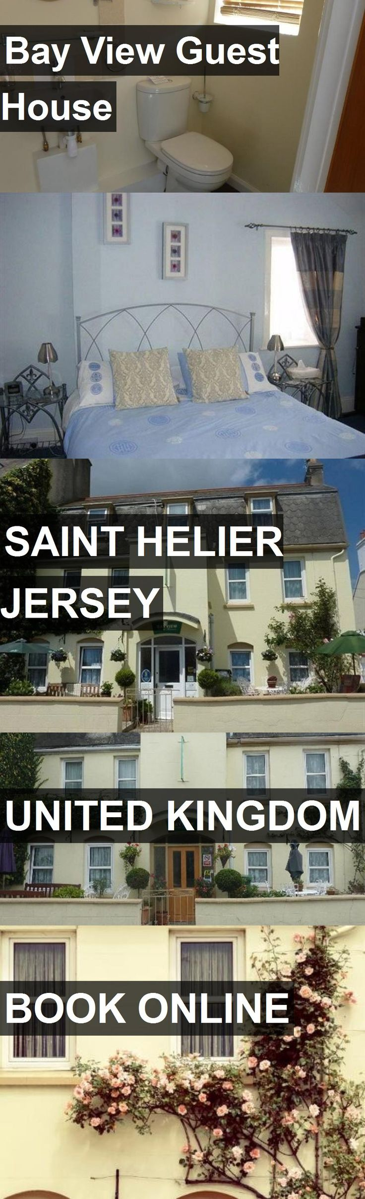 Bay View Guest House in Saint Helier Jersey, United Kingdom. For more information, photos, reviews and best prices please follow the link. #UnitedKingdom #SaintHelierJersey #travel #vacation #guesthouse