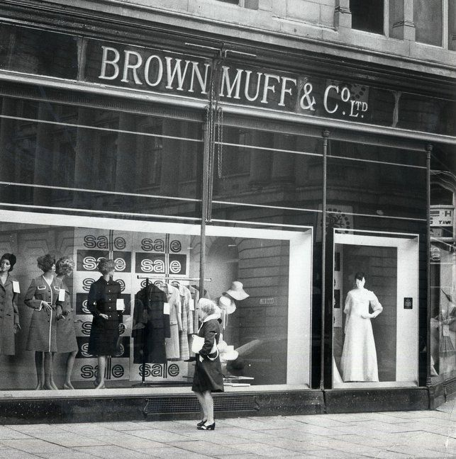 Brown Muff's - very upmarket department store in Bradford, West Yorkshire. Part of my childhood.