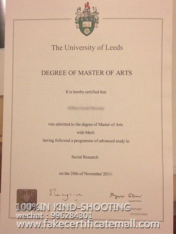 How To Get A University Of Leeds Degree Certificate Fake Diplomas