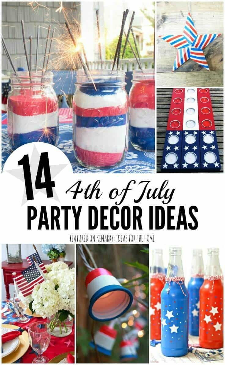 4th of july party: 14 ideas to decorate your backyard | barbecues