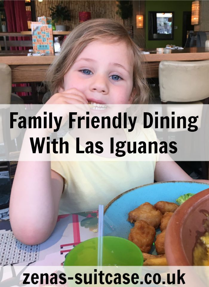 Family Friendly Dining With Las Iguanas