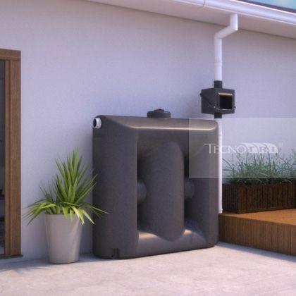 Conheça um sistema de captação de água de chuva que é prático, bonito e econômico