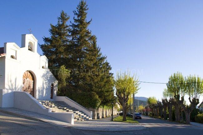 Iglesia. La Estación de el Espinar