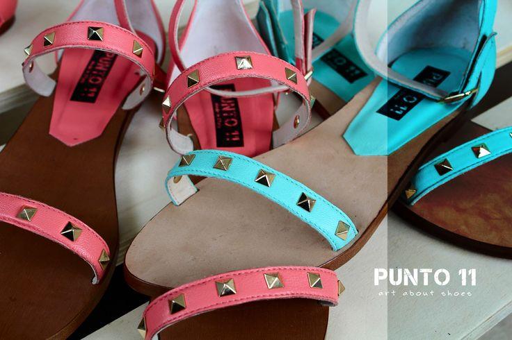 Punto 11 shoes, summer mood