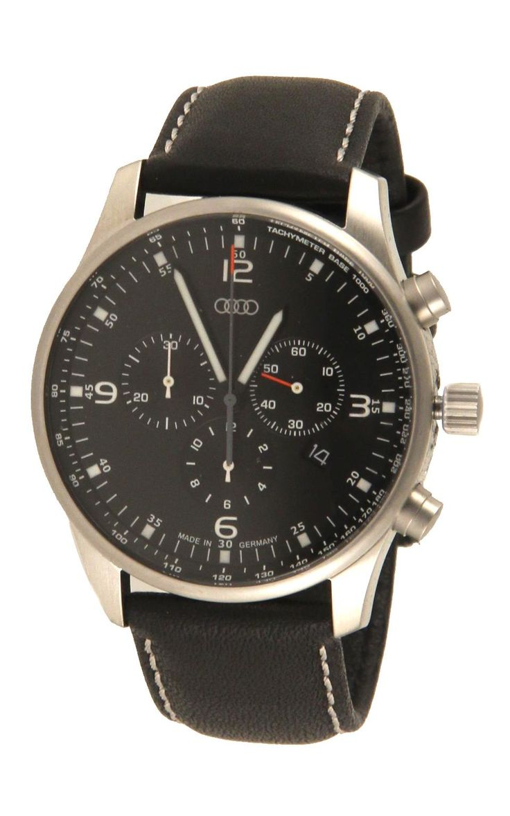 Audi. #ACMJ992: Chronograph Watch