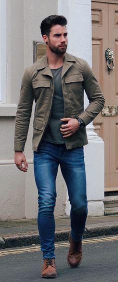 Fashion Men Male Casual Trends Urban Style