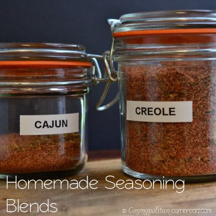 Homemade Cajun and Creole Seasonings | Cosmopolitan Cornbread
