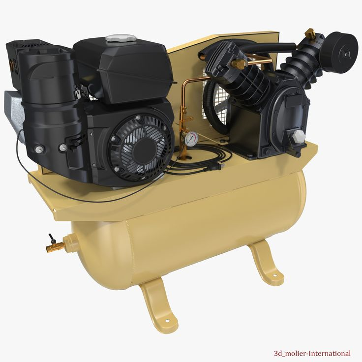 Piston Air Compressor 3d model  http://www.turbosquid.com/3d-models/3d-model-piston-air-compressor/929756?referral=3d_molier-International