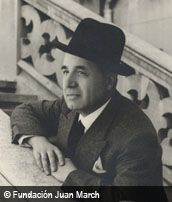 Ángel Martín Pompey. Nació en Montejo de la Sierra (Madrid), 1902- Madrid, 2001). Formado en el Real Conservatorio Superior de Música (Madrid). Obtuvo diploma de composición (1931), contando ya con un extenso catálogo de estrenos iniciado en 1913. Desde 1935-1943 asistió a Bartolomé Pérez Casas en su cátedra de armonía en el Conservatorio, al que volvería en 1961. Desde 1941 hasta su jubilación fue profesor de musica en el Colegio del Pilar (Madrid). En 1999 recibió el Premio Nacional de…